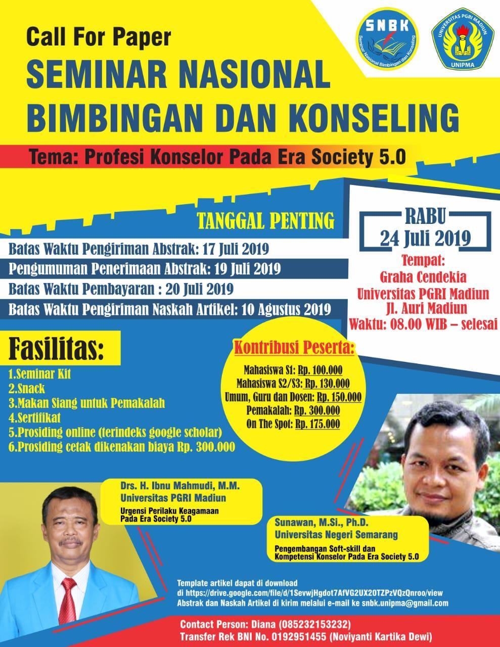 Seminar Nasional Bimbingan dan Konseling