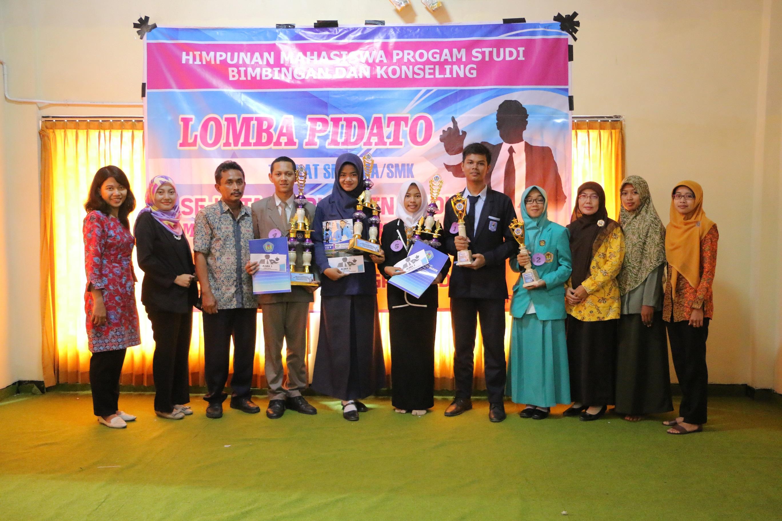 Lomba Pidato Tingkat SMA/MA/SMK Se-Kab/Kota Madiun