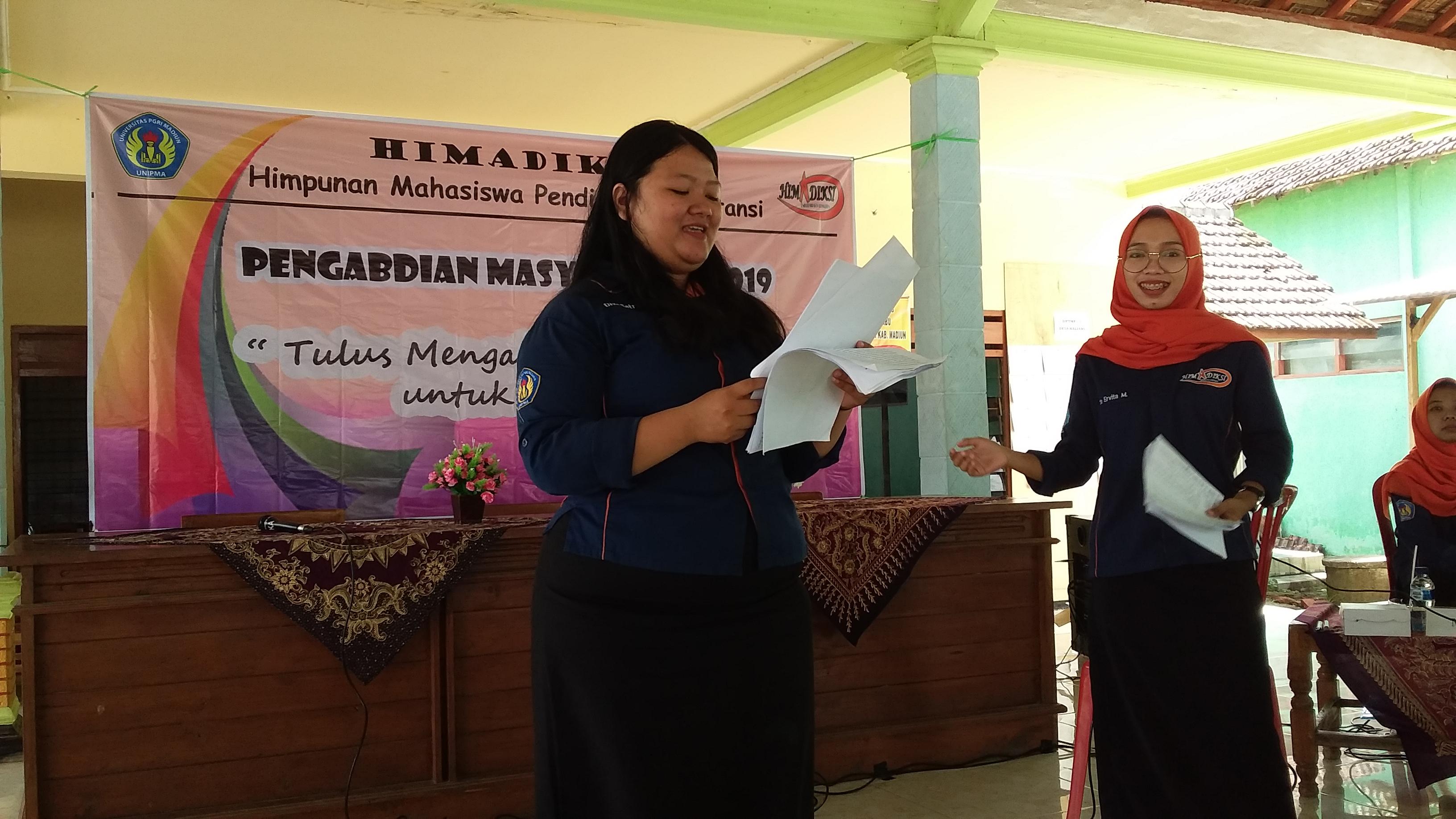 HIMPUNAN MAHASISWA PENDIDIKAN AKUNTANSI PENGABDIAN MASYARAKAT 2019