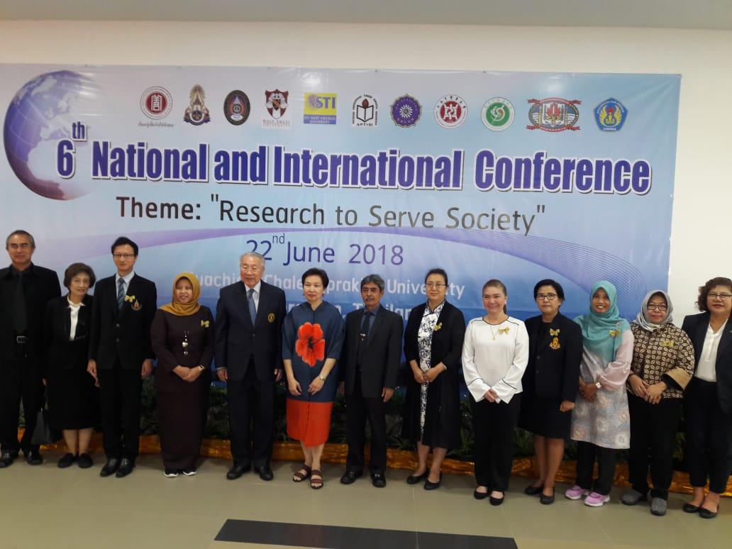 UNIPMA Mengikuti 6th National and International Conference di Huachiew Chalermprakiet University, Samutprakarn, Thailand