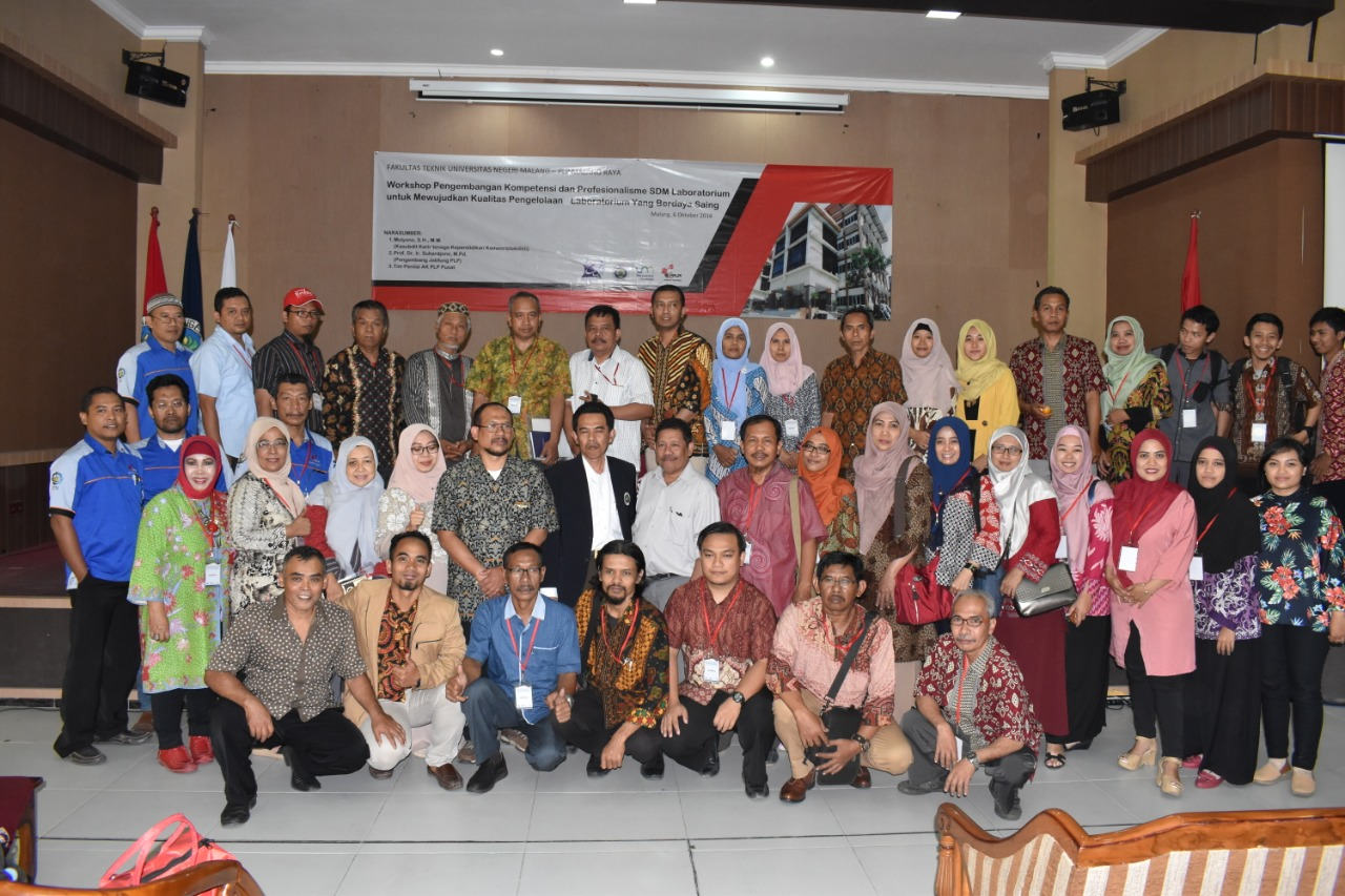 Workshop Pranata Laboratorium Pendidikan Universitas Negeri Malang 2018: Bersiap Menghadapi Revolusi Industri 4.0