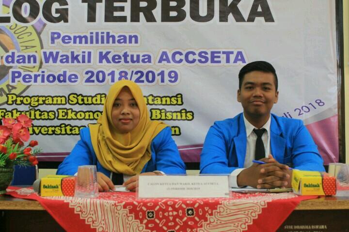Pemilihan Ketua dan Wakil Ketua ACCSETA Periode 2018/2019