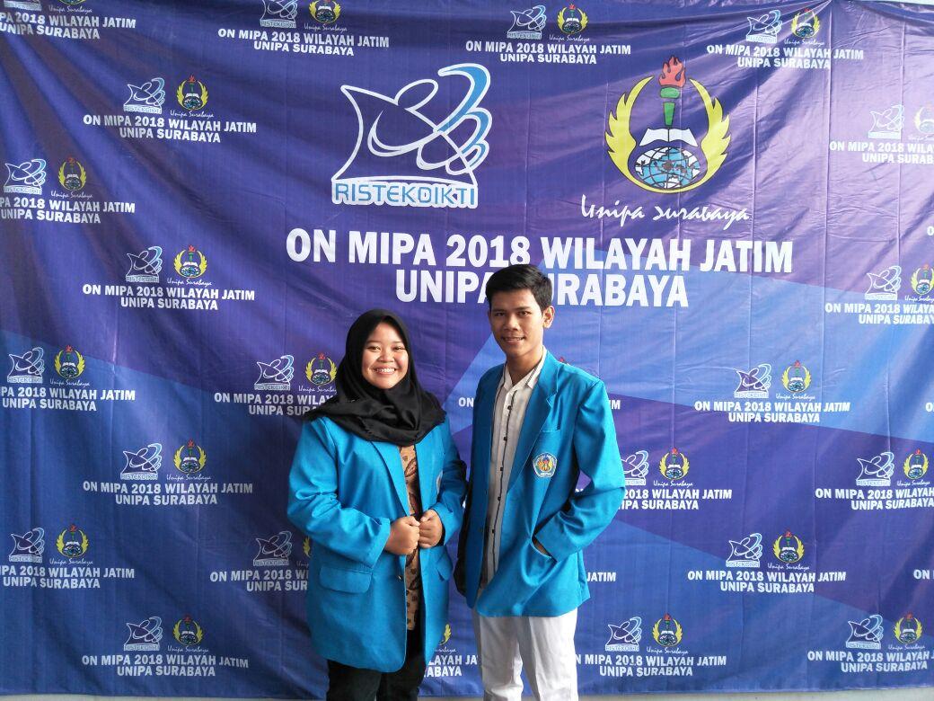 Mahasiswa Teknik Kimia Universitas PGRI Madiun di ON MIPA Tahun 2018