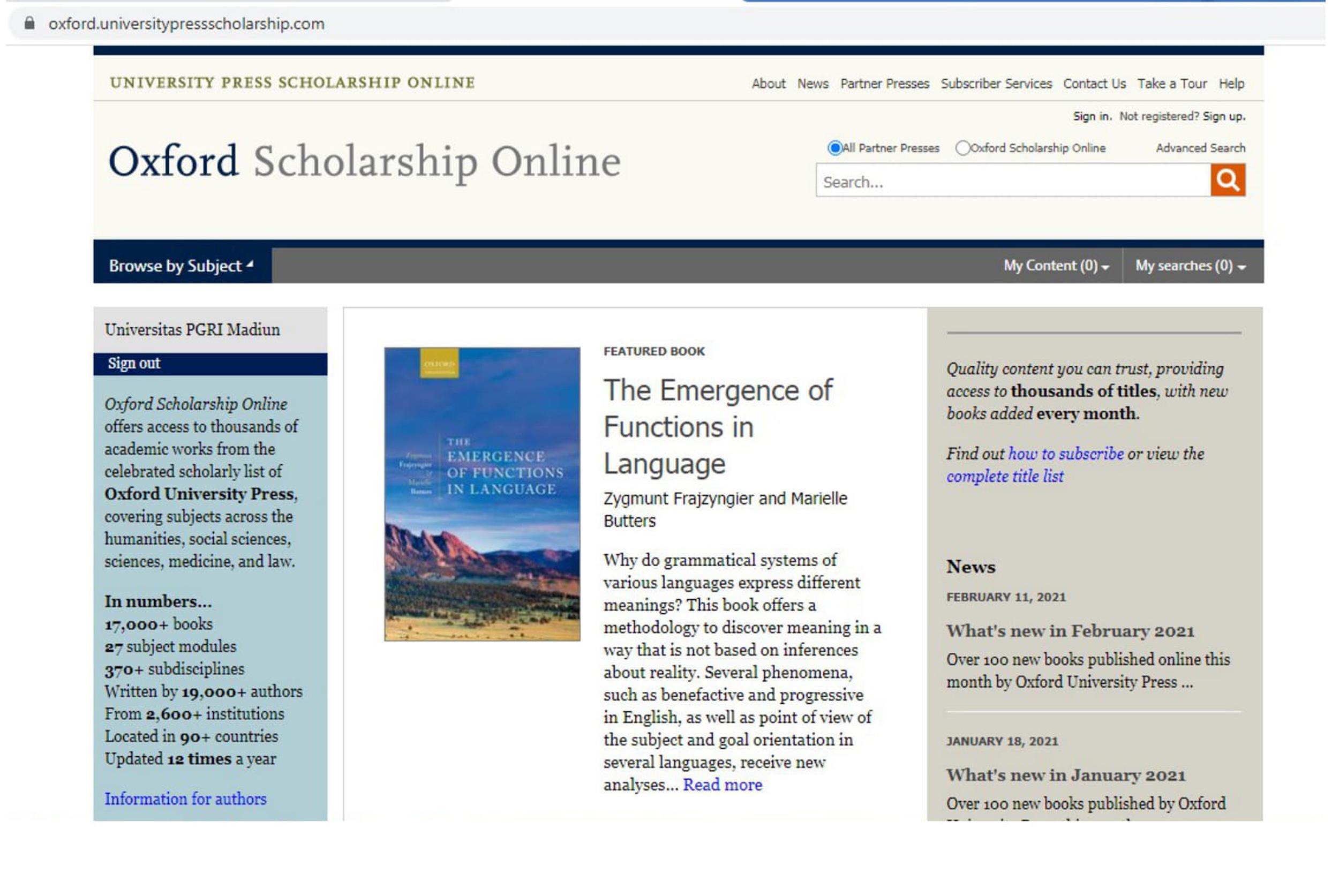 E-BOOK OXFORD