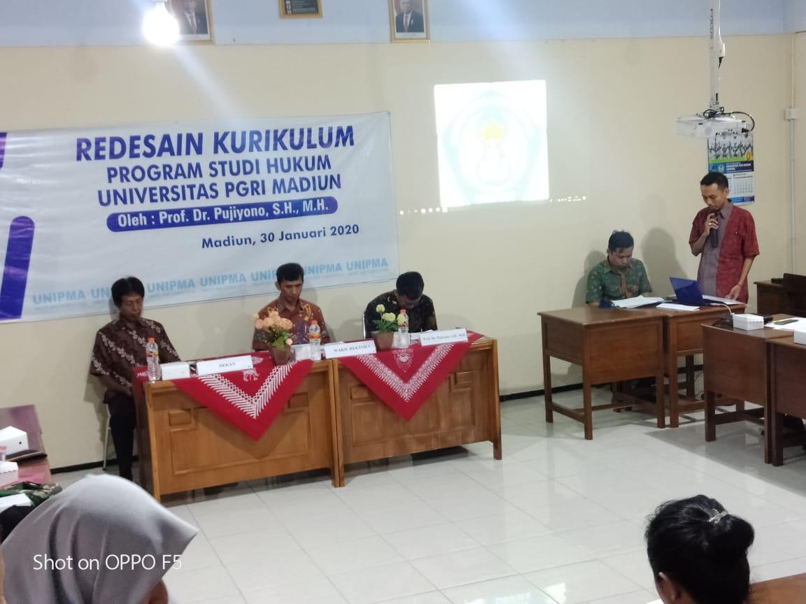 Workshop Kurikulum Prodi Hukum UNIPMA