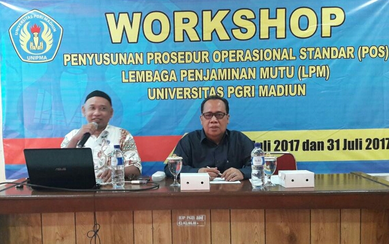 Workshop Penyusunan SOP LPM UNIPMA